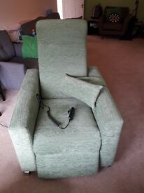 REDUCED Riser recliner chair