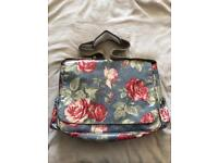 Cath Kidston Antique Rose nappy changing bag rare used