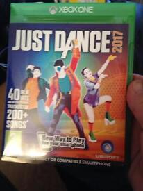 Just dance 2017 Xbox1