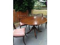 Strongbow table and chairs