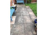 Free paving slabs - collection needed