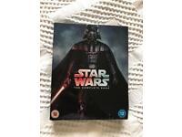 Star Wars box set - episodes 1-6