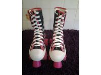 Girls Fashionable Monster High Roller Skates In Very Good Clean Condition-Proceeds To Local Charity