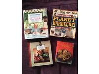 Cook books including the great British bake off
