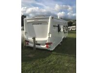 Swift Challenger 625 Twin Axle 6 Birth 2011 with awning