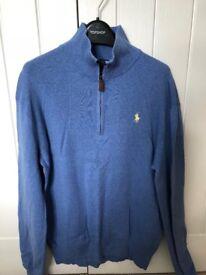 Ralph Lauren mens blue jumper