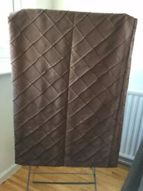 lovely brown curtains for sale