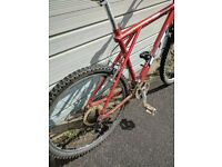 GT Backwoods mountain bike