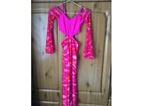 EXQUISITE CONDITION MODERN DANCE COSTUME. HANDMADE. HIGHLY SUITABLE FOR COMPETITIVE PERFORMANCE.
