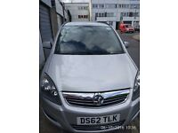 Vauxhall Zafira 1.8 MPV 7 seater low milage PHV registered