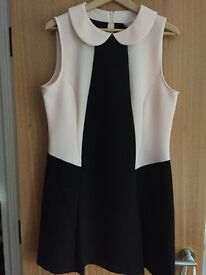 Red herring black/nude dress size 14