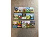 Full set of Usborne very first reading books set of 15 books excellent as new condition
