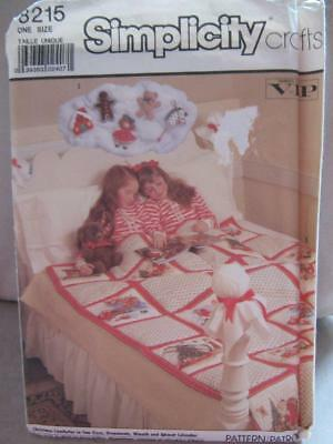 Advent Wreath Craft (Simplicity 8215 Uncut Christmas Comforter, Advent Calendar, Ornaments &)