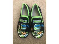 Ninja turtle slippers