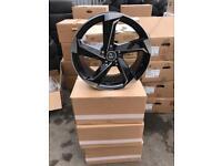 "18"" alloy wheels alloys rims tyre tyres audi Vw Volkswagen seat Skoda 112"