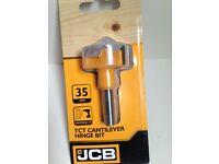 *Brand New* JCB Cantilever Hinge Bit 35mm