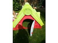 Garden den slide