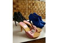 3 pair of Shoes size 3.5 -4