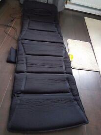 Massager mat with heat