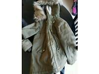 Girls coat aged 10-11