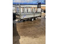 Ifor Williams LM146 trailer with mesh sides