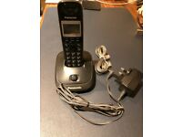 Panasonic DECT Cordless Home Phone with Caller ID and Phonebook