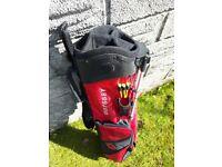 Odyssey lightweight pencil golf bag