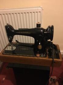 Vintage 1950s Singer sawing machine