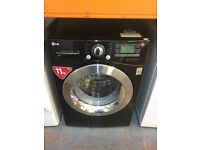 LG WASHING MACHINE 11KG BLACK DIRECT DRIVE MOTOR RECONDITIONED