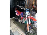 140cc RFZ RACING Big Wheel 17/14 Dirt Bike - RED