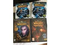World of Warcraft PC games.