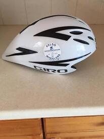 Time trial aero helmet