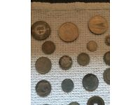 OLD COINS, VARIOUS CURRENCY