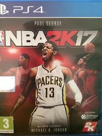 NBA 2K17 PlayStation 4