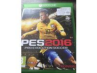 X Box One PES 2016 and Rugby World Cup 2015
