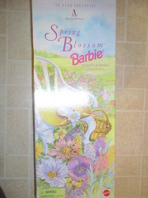 SPRING BLOSSOM BARBIE, AN AVON EXCLUSIVE, SPECIAL EDITION, BLONDE, 1995 NEW