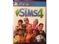 PS4 game- the sims 4