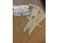 Baby boy vets and baby grows 0-3 months