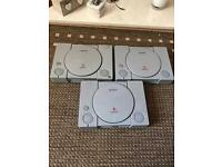 Ps1 consoles spares or repairs