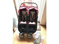 Baby Jogger City Mini twin double pram pushchair