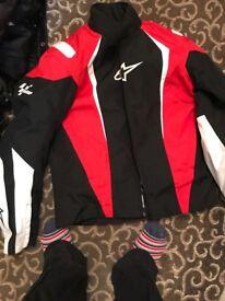 Alpine all star motorbike jacket excellent condition