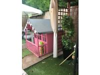 TP small wooden playhouse