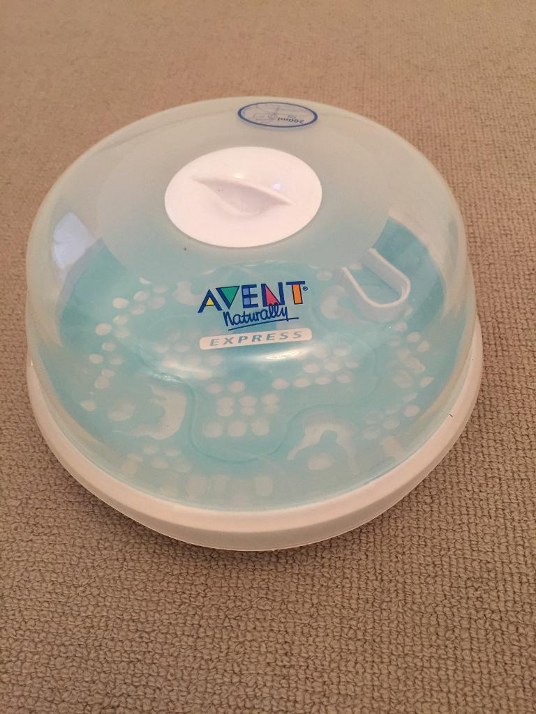 Avent express microwave steam steriliserin Hereford, HerefordshireGumtree - Avent microwave steam steriliser . Takes up to 4 Avent bottles and works in just 4 mins