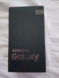 Samsung galaxy s7 32gb boxed New