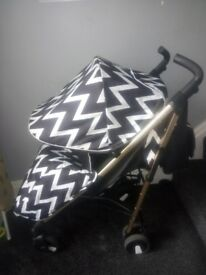 My babiie Mb51 gold edition stroller