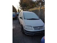 2003 VW SHARAN 1.9 TDI BREAKING FOR PARTS