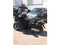 Honda 125 s wing 1 year mot