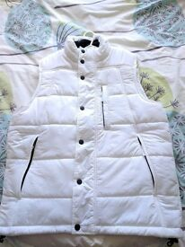 Timberland White Gilet Size S