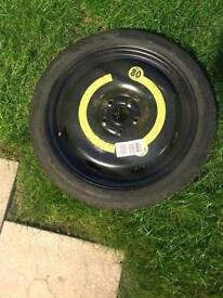 VOLKSWAGON GOLF 2006 SPACE SAVER WHEEL