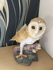 Large owl decorative ornament for home or garden